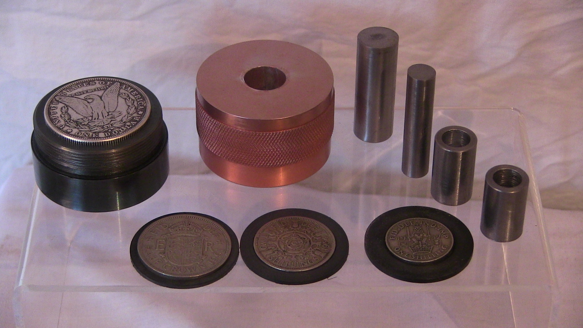 Coin Ring Punch Set